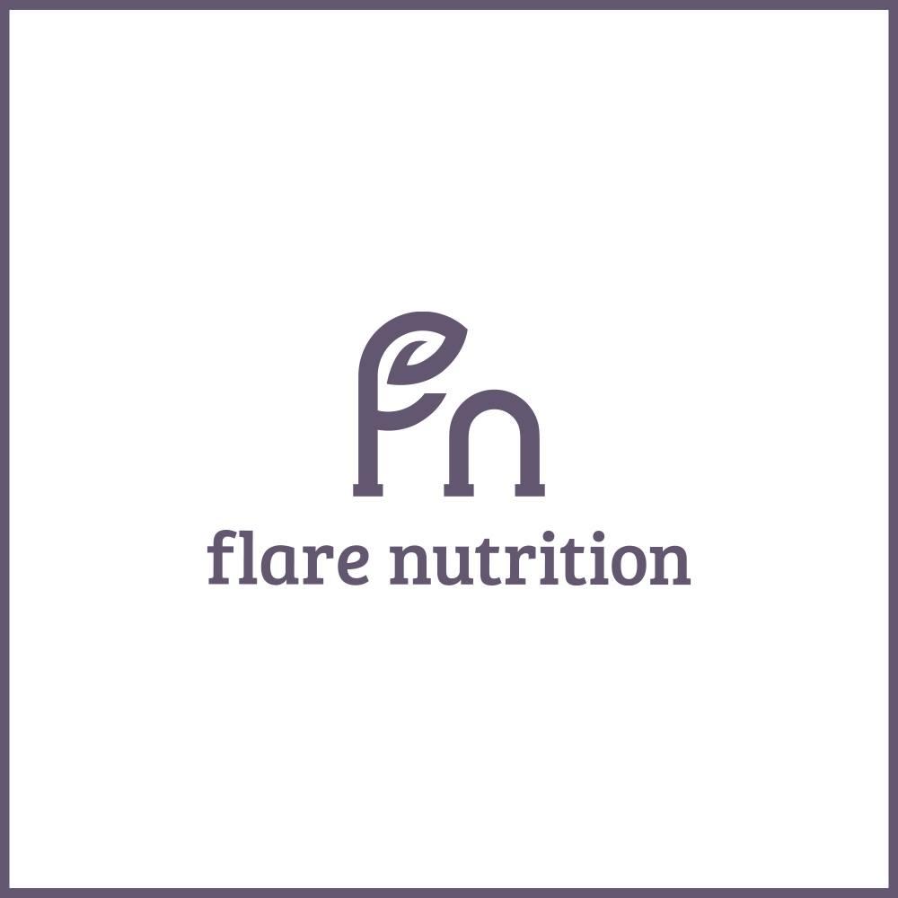 logo, Flare Nutrition